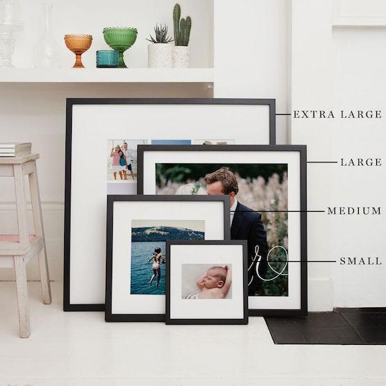 Small, Medium, Large & Extra Large