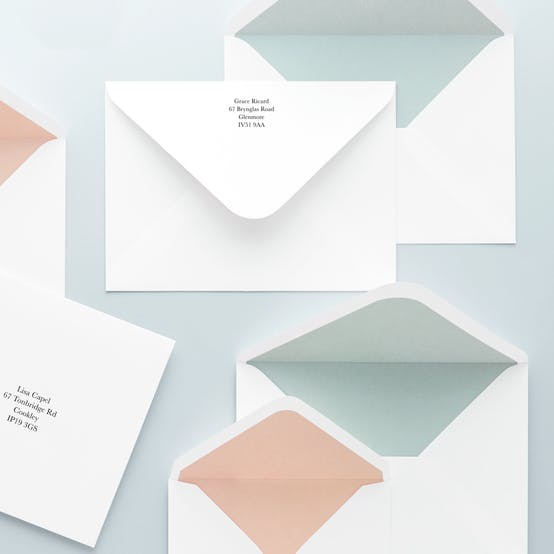 Envelope Address Printing Available