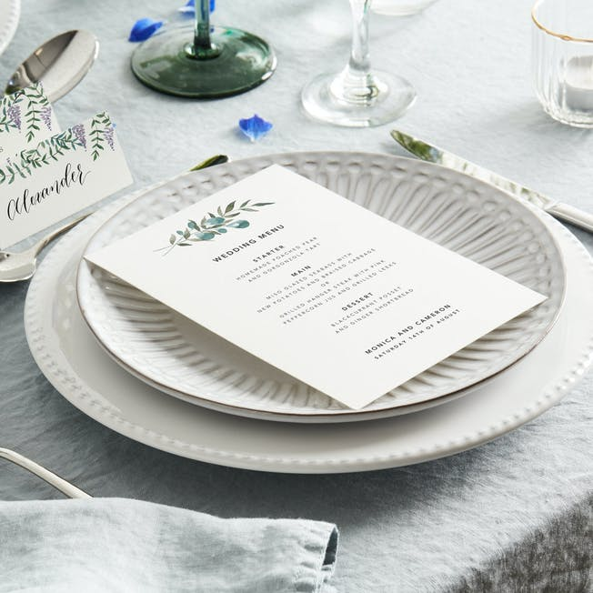 Complete Your Table Setting