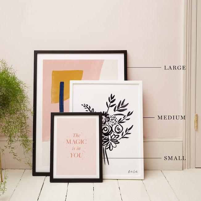 Small, Medium & Large