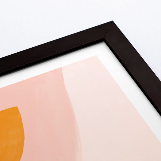 Smooth Solid Wood Frame