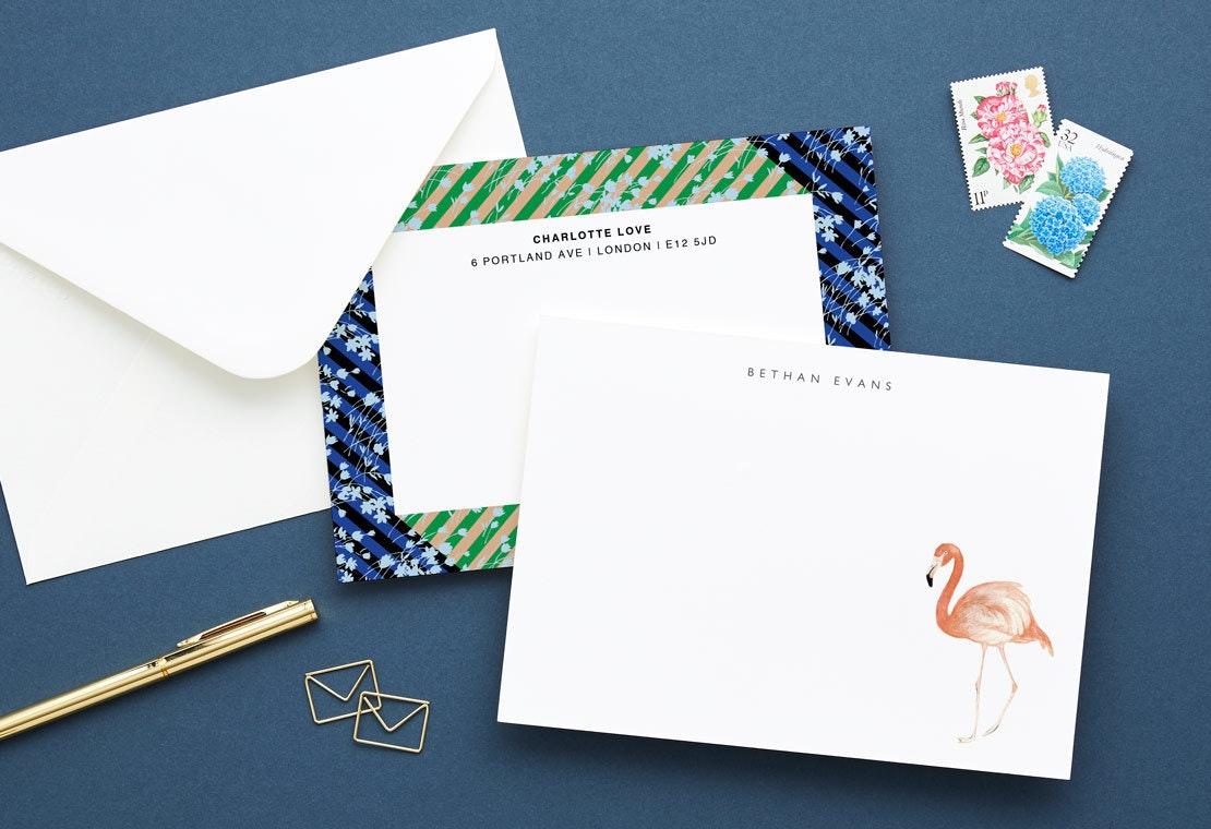 personalized stationery customizable stationery papier
