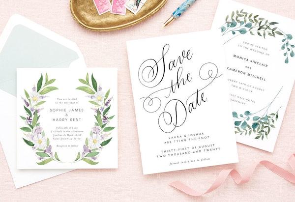 Wedding Invitation Samples Free Papier