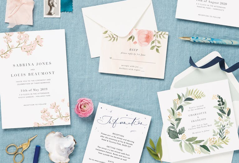 Find the perfect invitation: 2-3 months to go