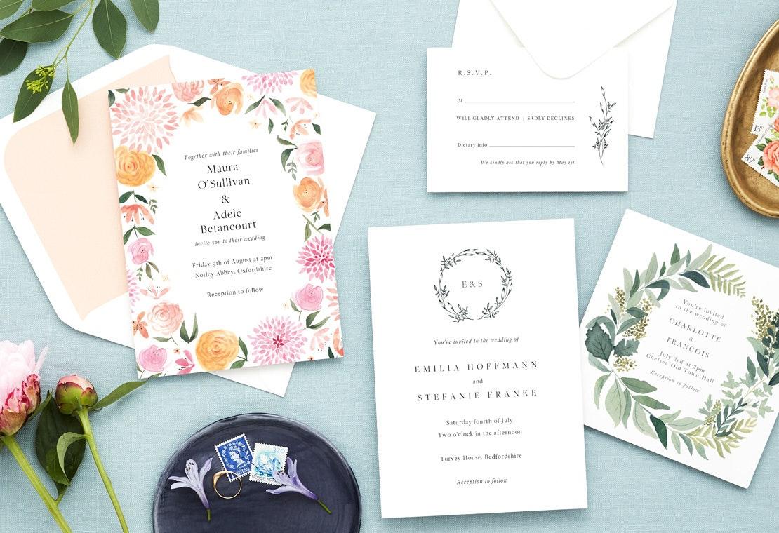 New 2019 Wedding Invitations