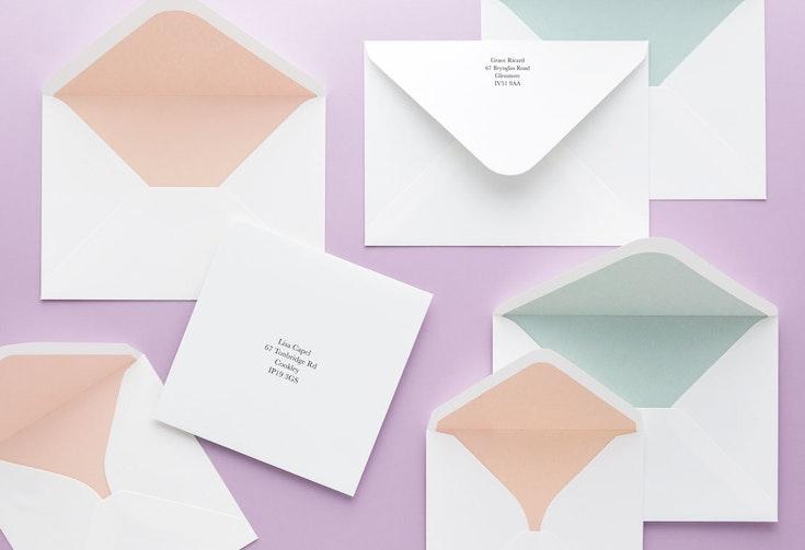Choose a colour or pattern – 20p per envelope