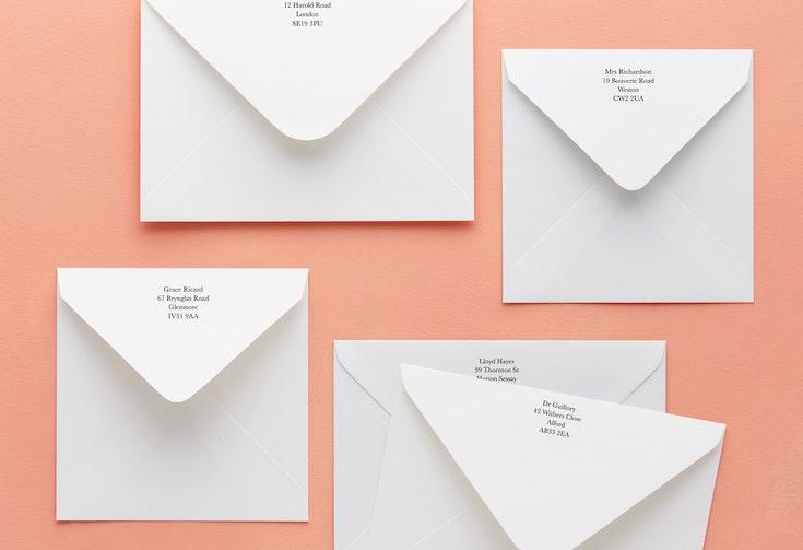 Optional return addressing - $0.60 per envelope