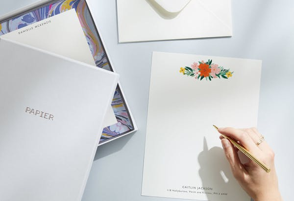 Briefpapier-Sets