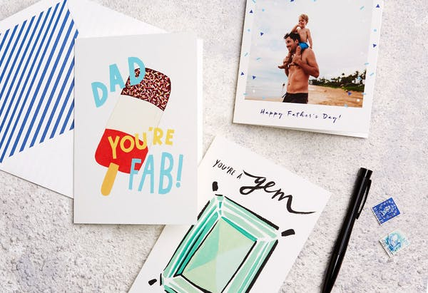 Papier supports CALM this Father's Day