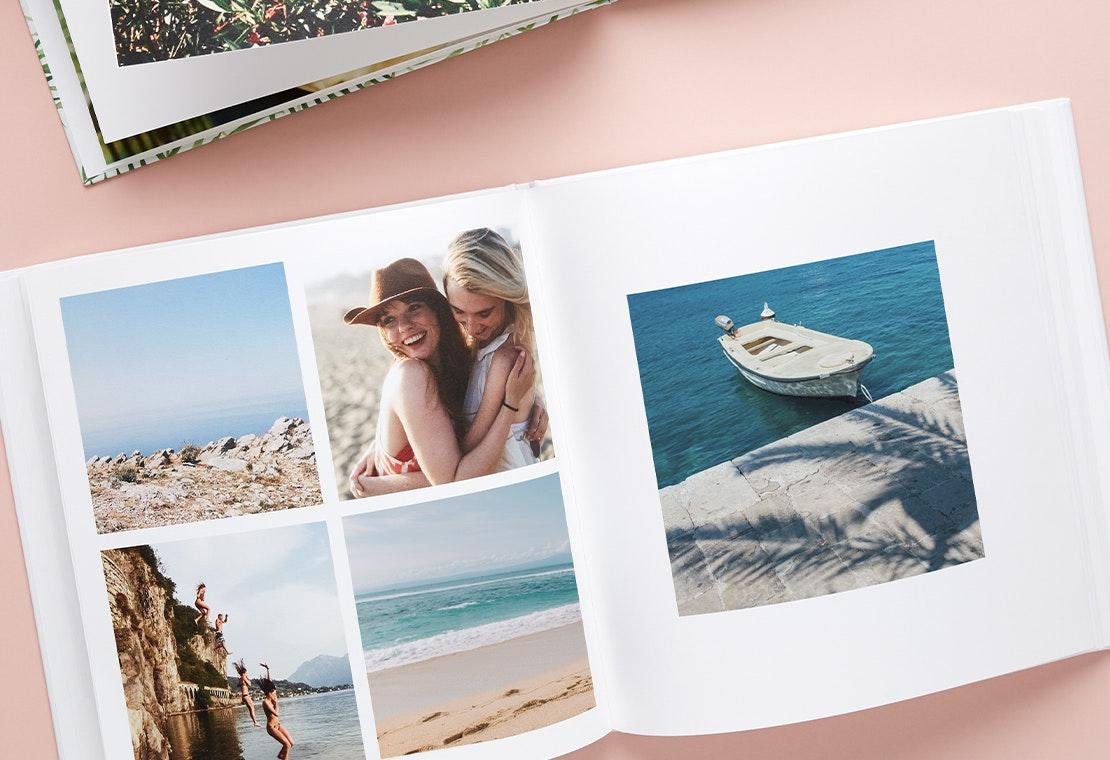 Travel photo book ideas