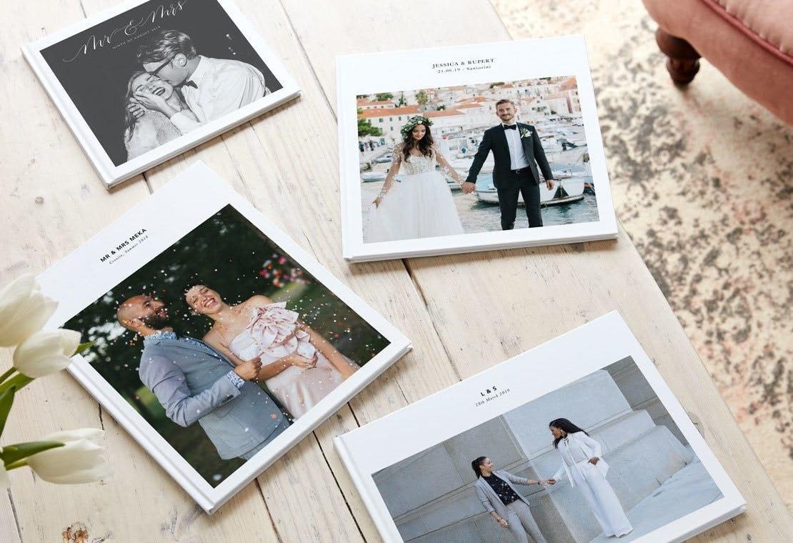 How to design a wedding album