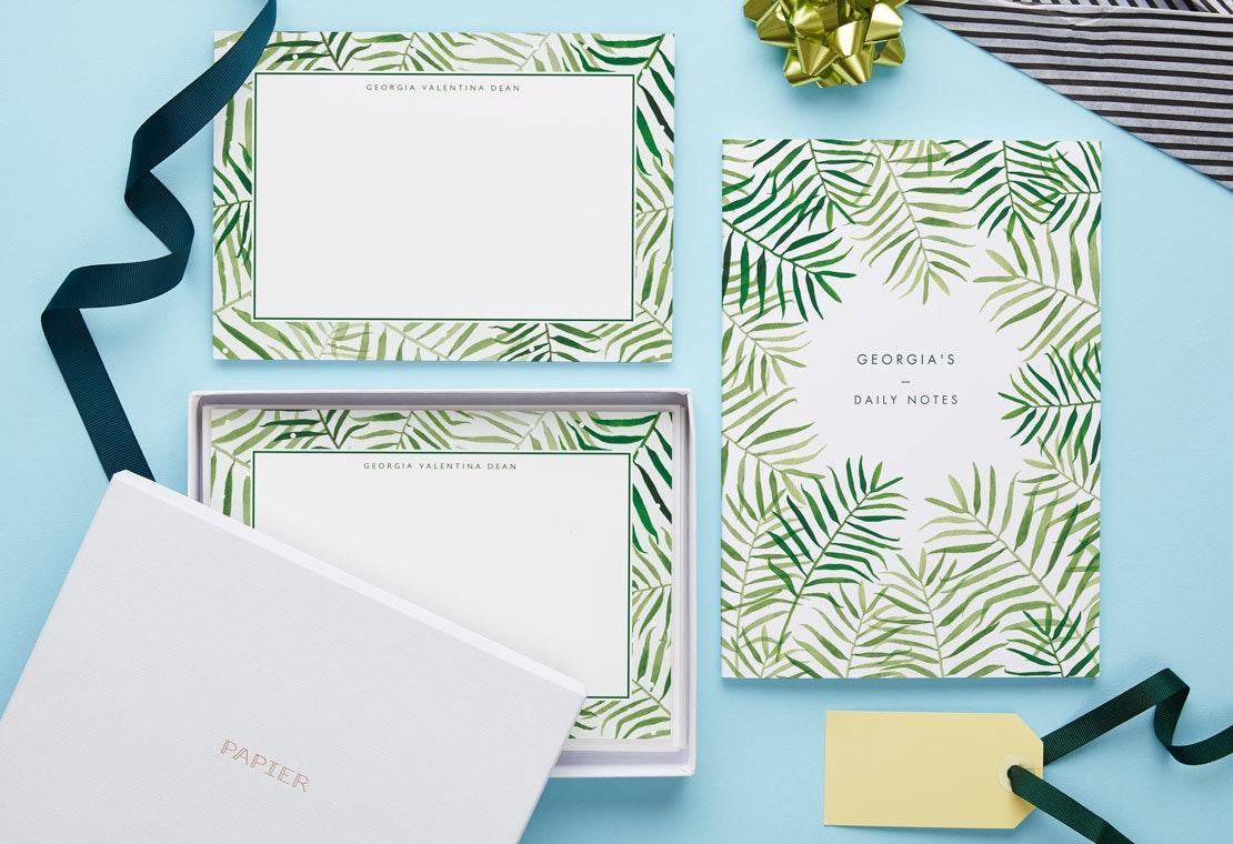 Notizbuch & Briefkarten-Sets