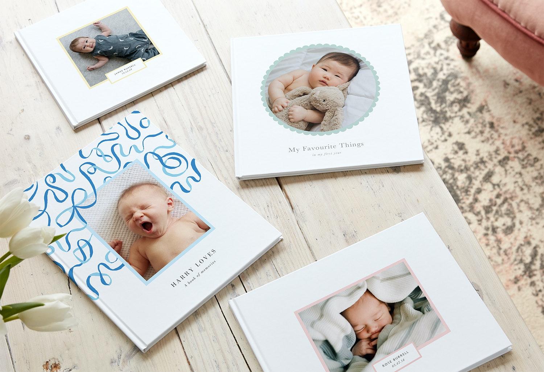 Baby photo book ideas