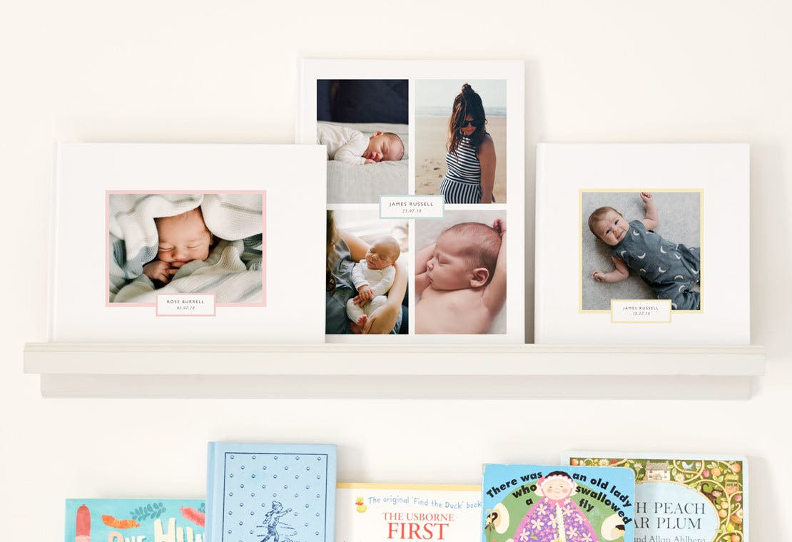The 5 Most Adorable Baby Photo Book Ideas