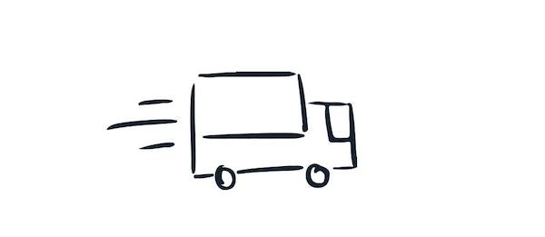 Step 3: We ship your framed photo