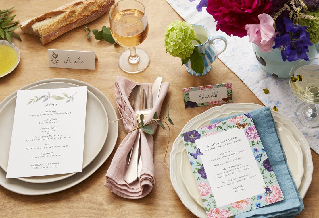 5 Ways to Style Your Wedding Table