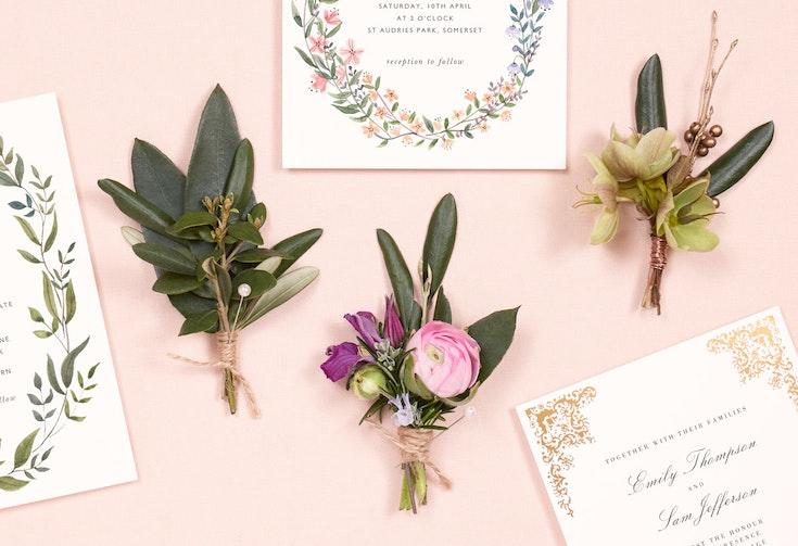 Wedding buttonhole ideas