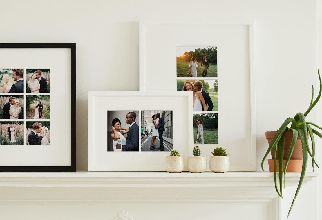 Frame your wedding photos