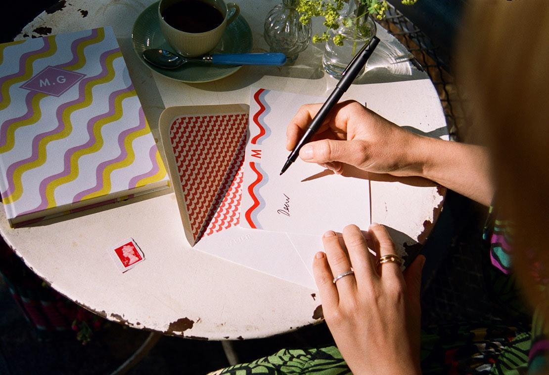 Matilda Goad's Colorful Stationery