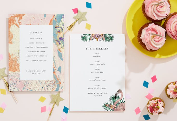 Party Itineraries