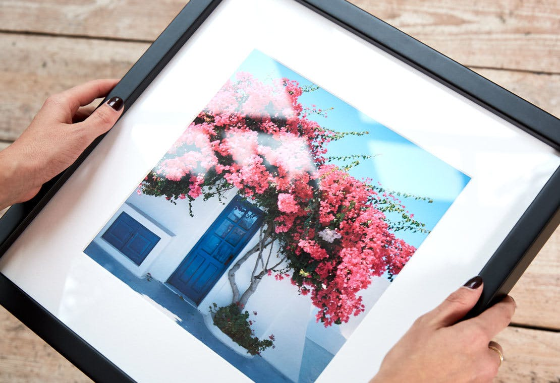 Find out how our gallery-quality framed photo prints are made...