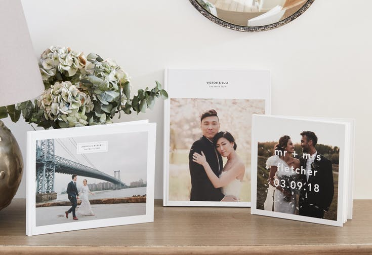How to create a wedding album