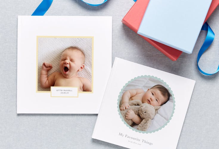 5 Adorable Baby Photo Book Ideas