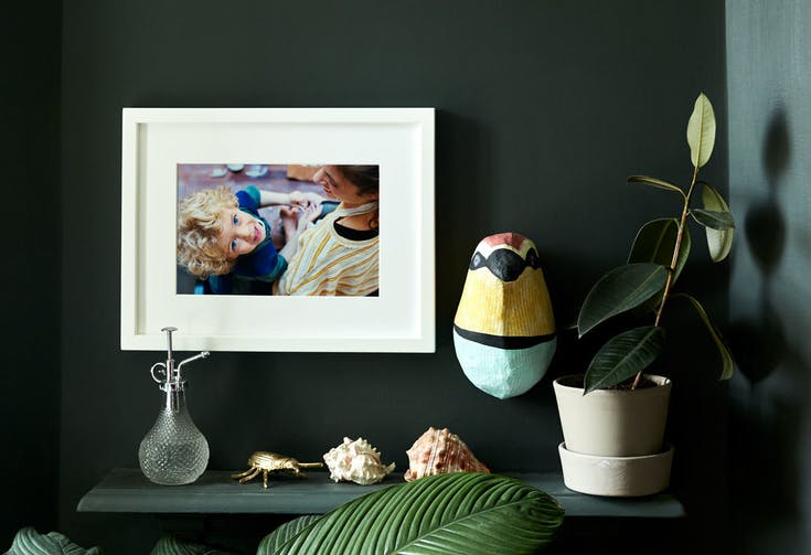 Where to hang pictures in a room