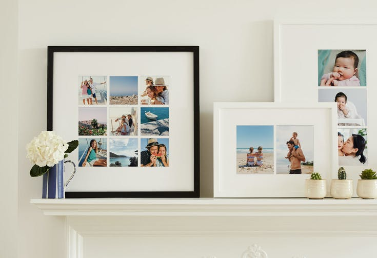 Mounted Multi Photo Framed Print