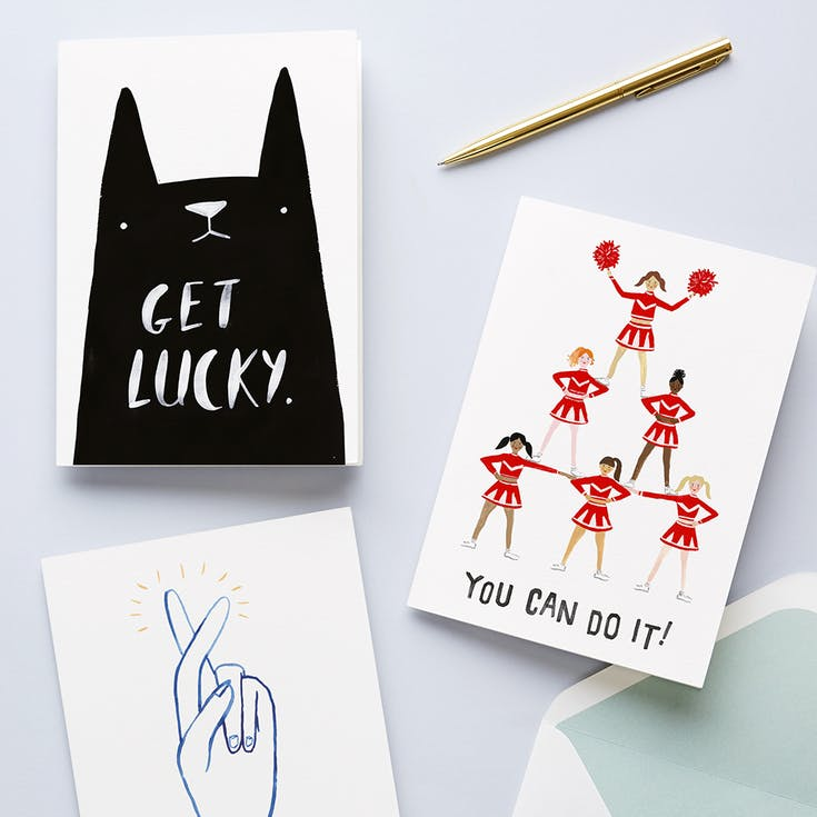 Good Luck Cards