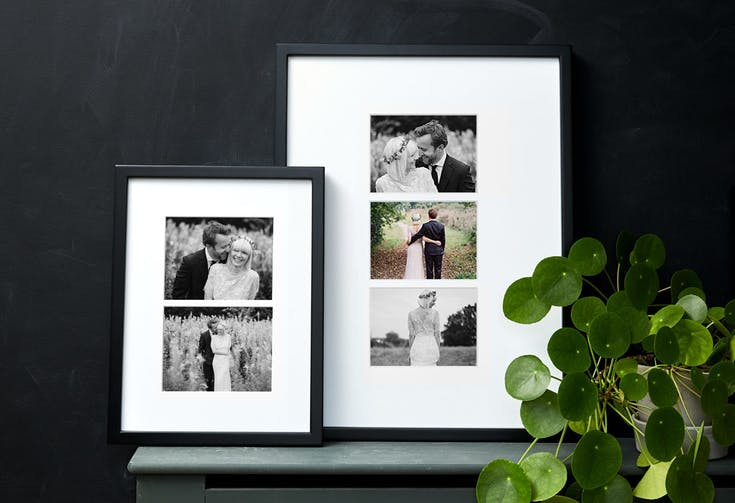 Mounted Multi Photo Framed Print
