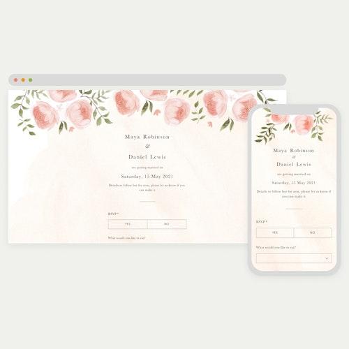 Wedding RSVPs online