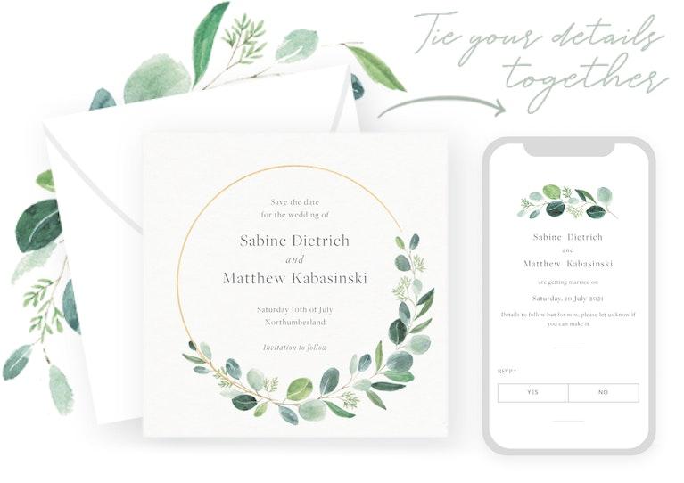 Send digital save the dates