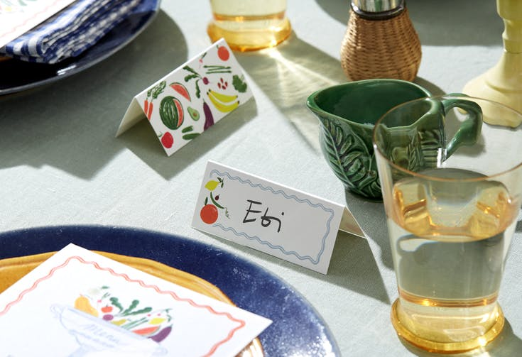 Dinner Party Place Cards