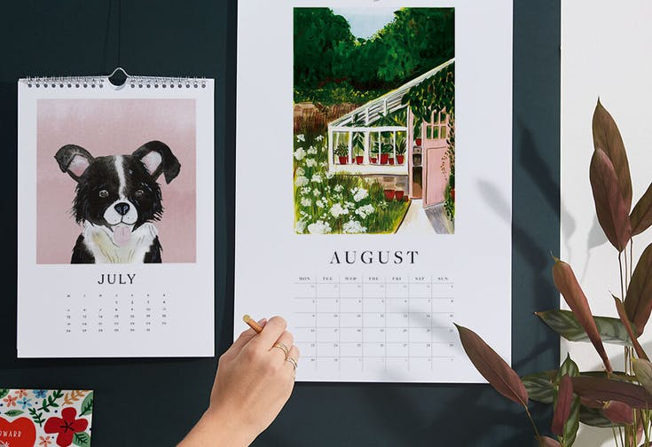 2021 Illustrated Calendars