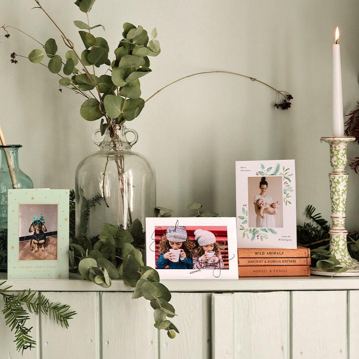 Photo Christmas Card Sets