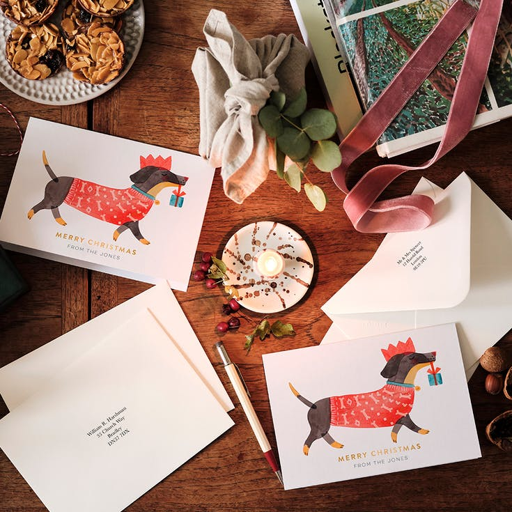 Foiled Christmas Card Sets