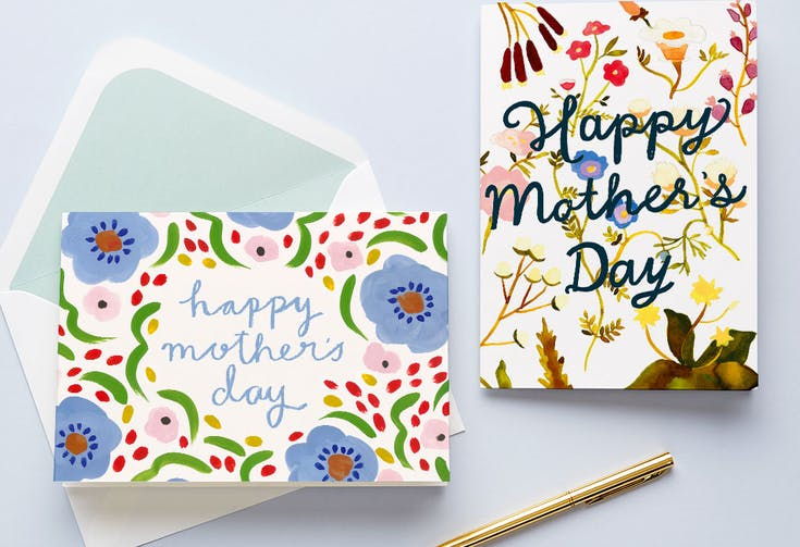 Floral & Botanical Mother's Day Cards