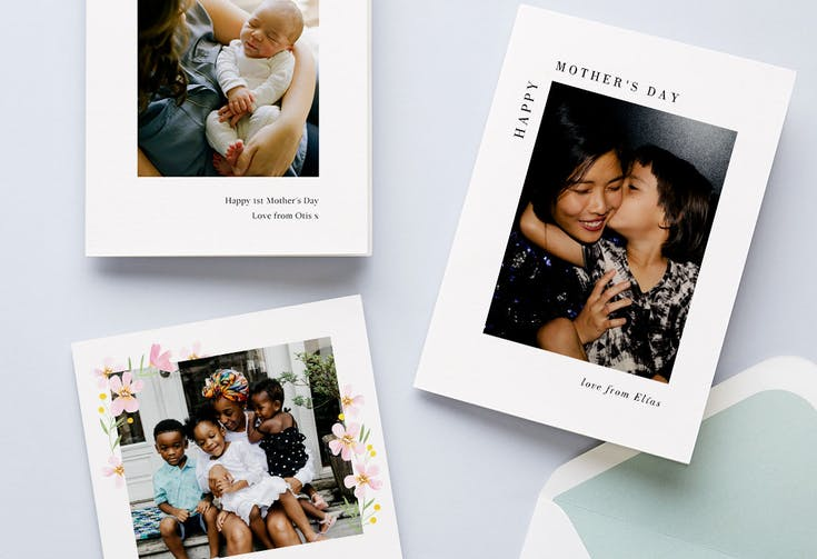 Photo Mother's Day Cards
