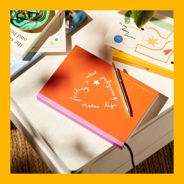 Shop the limited edition notebook