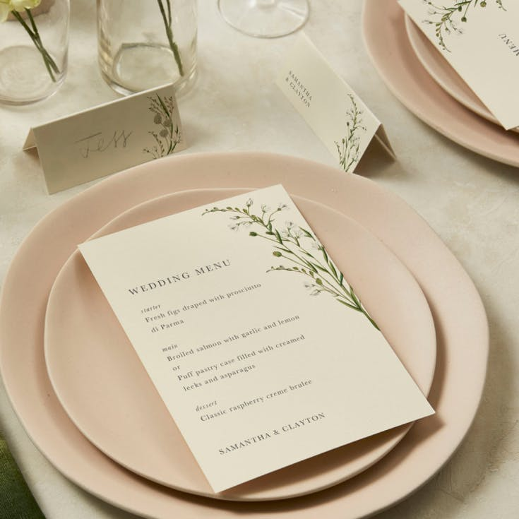 Tabletop details for every wedding size
