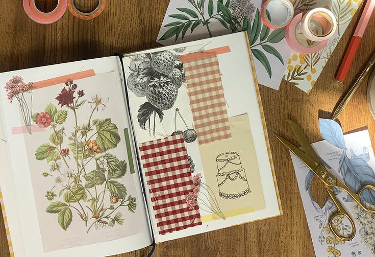 How To: Slow Down with Scrapbooking