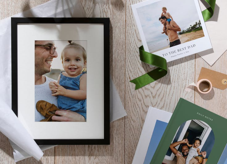 Photo gifts for Father's Day