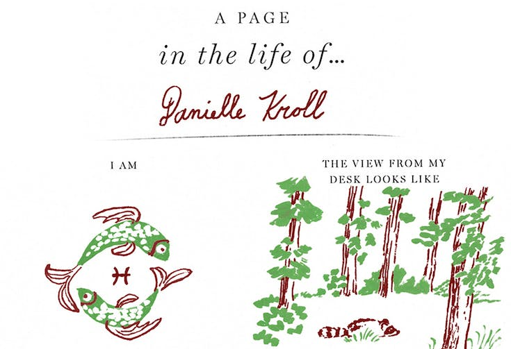 A Page in the Life Of... Danielle Kroll
