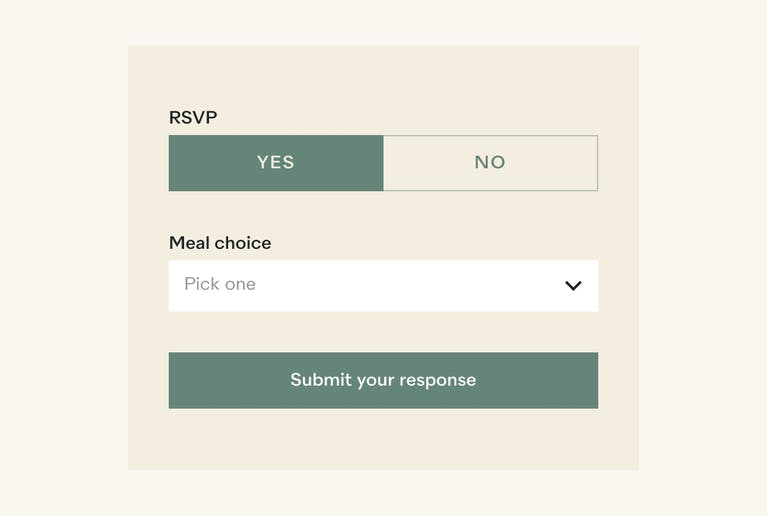 Gather RSVPs online