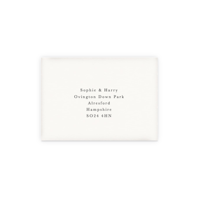RSVP Envelope