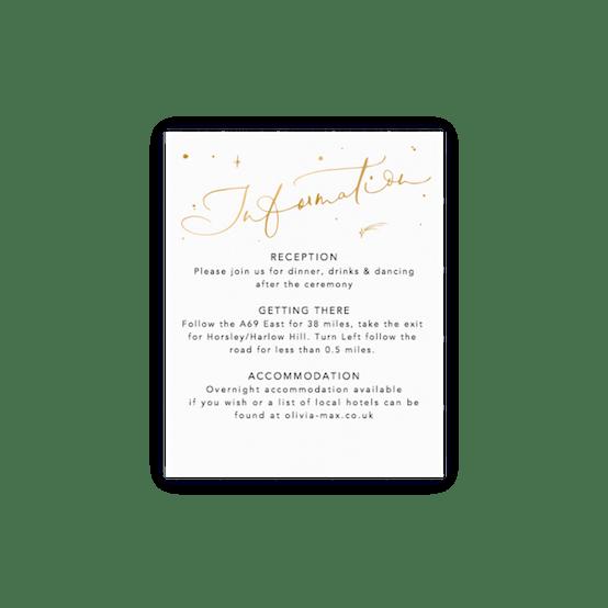 Info Card