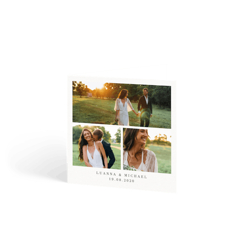 Personalised Wedding Thank You Cards & Stationery | Papier
