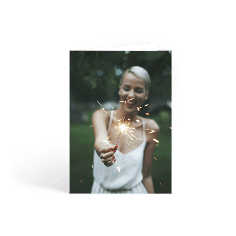 Personalised cards high quality fast uk delivery papier portrait photo m4hsunfo