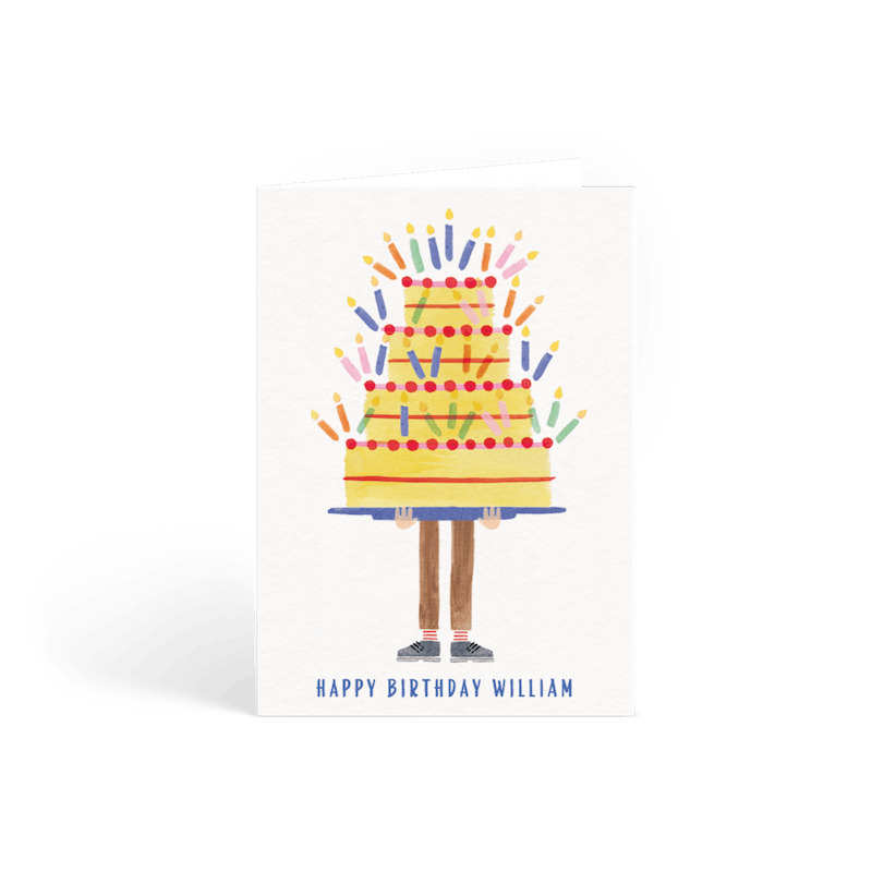 40th Birthday Cards Personalised Cards Papier